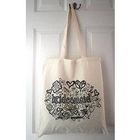 'Bridesmaid' Tote Bag, beige