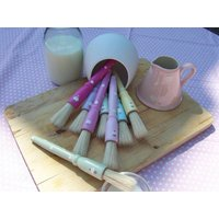 Dotty Pastry Brush, Bright Pink/Pink/Lilac