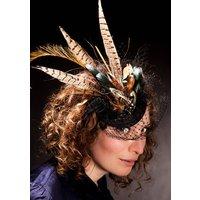 Pheasant Feather Fascinator