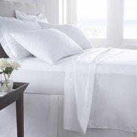 Vermont White Organic Cotton 200 Tc Percale Bed Linen