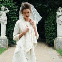 Duchess Wedding Cardigan, Ivory