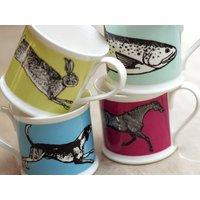 Colour Animal Mug Collection