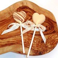 Mini Chocolate Heart Lollipop