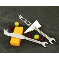 Set Of Spanner Cheese Knives
