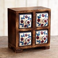 Handmade Four Drawer Trinket Box