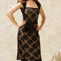 Olivia Lace Dress  Classic Black