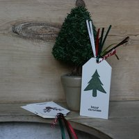 Pack of Five Christmas Tags