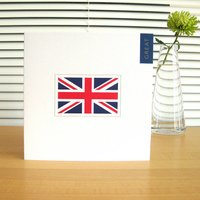 Personalised Great Britain Union Jack Card