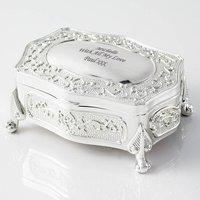 Personalised Vintage Style Trinket Box