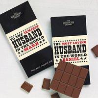 World's Best Husband Chocolate