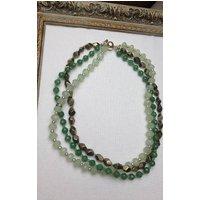 Three Layer Semi Precious Necklace