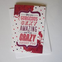 'You Are...' Greetings Card