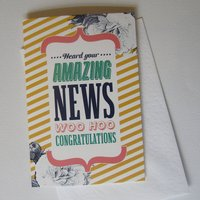 'Woo Hoo' Congratulations Card
