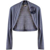 Shrug Fine Knit> Purple Smoke