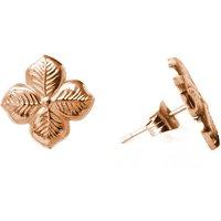 Hyacinth Floral Stud Earrings, Gold/Rose Gold/Rose