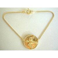 Swallow Coin Bracelet