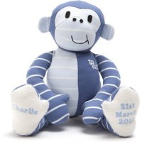 Personalised Baby Clothes Keepsake Monkey