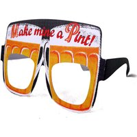 Mens Birthday Card Glasses Beer Goggles