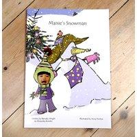 Name Of Child's Snowman Hardback