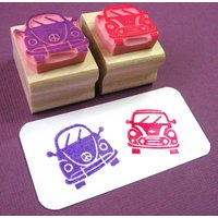 Classic Cars Rubber Stamps