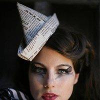 Paper Hat Fascinator