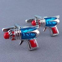 Sci Fi Ray Gun Cufflinks