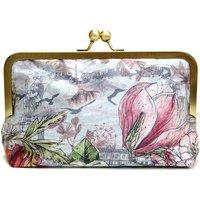 Pearl Clutch Bag, Silver/Gold