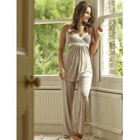 Radiance Maternity / Nursing Camisole Pyjamas, Navy Blue/Navy/Blue