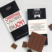 Chocolate Lover's Christmas Chocolate Bar