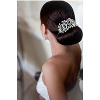 Florence Bridal Headpiece, Ivory/Pearl