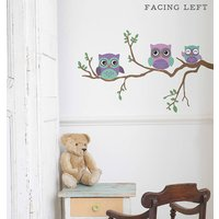Children's Wall Sticker Owl