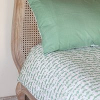Green Tractor Single And Cot Bed Duvet Set