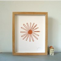 Personalised 'You Are My Sunshine' Papercut