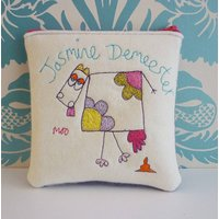 Moo Cow Personalised Purse