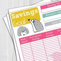 Printable 15 Page Finance Planner