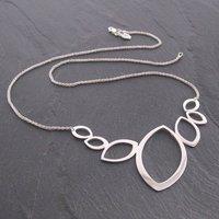 Folium Leaf Bib Necklace