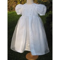 Christening Dress Lincoln Silk