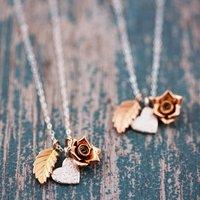 Wedding Thank You Necklace
