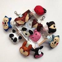 Handmade Animal Felt Key Rings