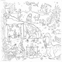 Dinosaur Adventure Colouring In Poster