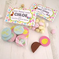 Personalised Easter Eggs Treat Bag Toppers