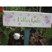 Bespoke Fairy Garden Sign