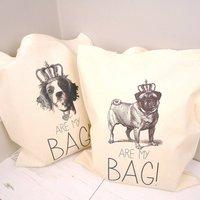Pugs Are My Bag Tote Bag