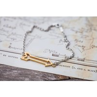 Gold Arrow Bracelet, Gold