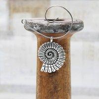 Handmade Ammonite Brooch