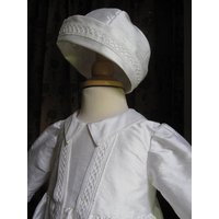 Christening Gown Edwina, White/Ivory