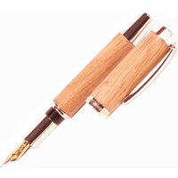 Whiskey Barrel 'Gentleman's' Fountain Pen