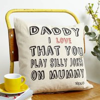 Personalised Dad Love Cushion