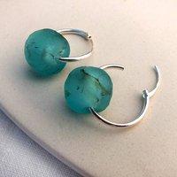 Simplicity Silver Hoop Earrings, Silver