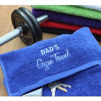 Personalised Sport And Yoga Towel With Zipped Pocket, White/Lime/Purple